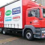 LBS truck