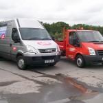 LBS vans