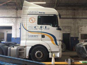 Truck repairs Ammanford and Pembroke Dock